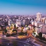Alt und Neu stehen in Amman dicht beeinander