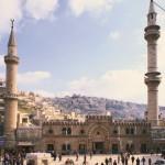 Die Al Hussein Moschee in Amman