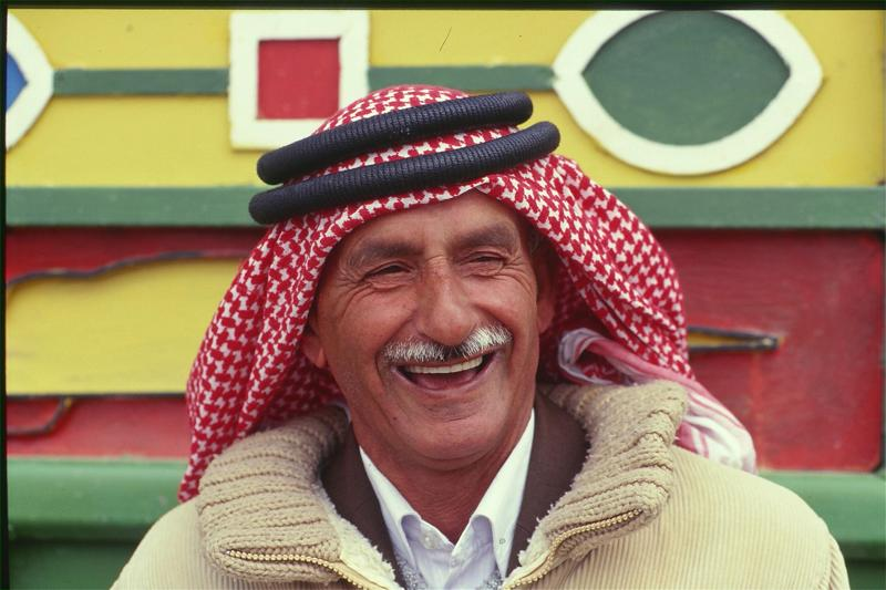 Die Jordanier lachen viel