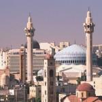 Die Koenig Abdulla I Moschee in Amman