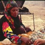 Eine Beduinenfrau