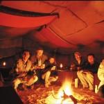 Im Zelt