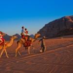 Mit dem Kamel durch Wadi Rum